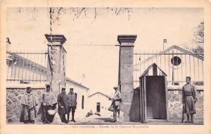 Tunisia Ain-Draham (Jendouba) Entree de la Caserne Biscuitville, Entrance