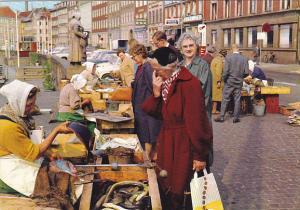 The Fish Wives at Gammel Strand Copenhagen Denmark