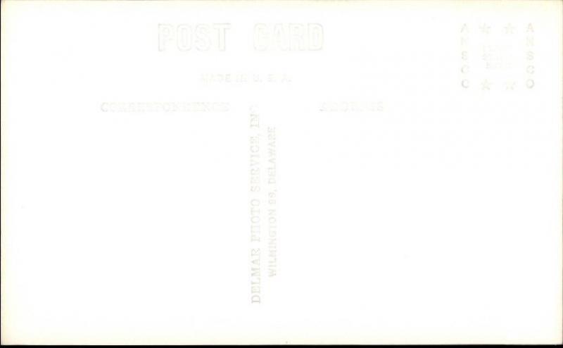 Wilmington DE DuPont Bldg Real Photo Postcard rpx
