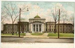 Presbyterian College, Charlotte, North Carolina, PU-1907