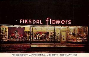 MN, Rochester, Minnesota, Fiksdal Flowers, Store Front, Dexter