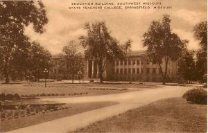 Education Building State Teachers College Springfield MO
