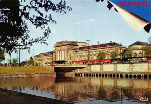 Postcard MULHOUSE Haut-Rhin La Gare France #44