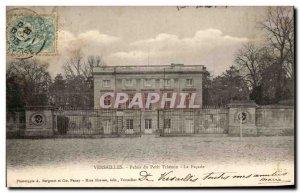 Old Postcard Versailies Petit Palais Tranon the Facade