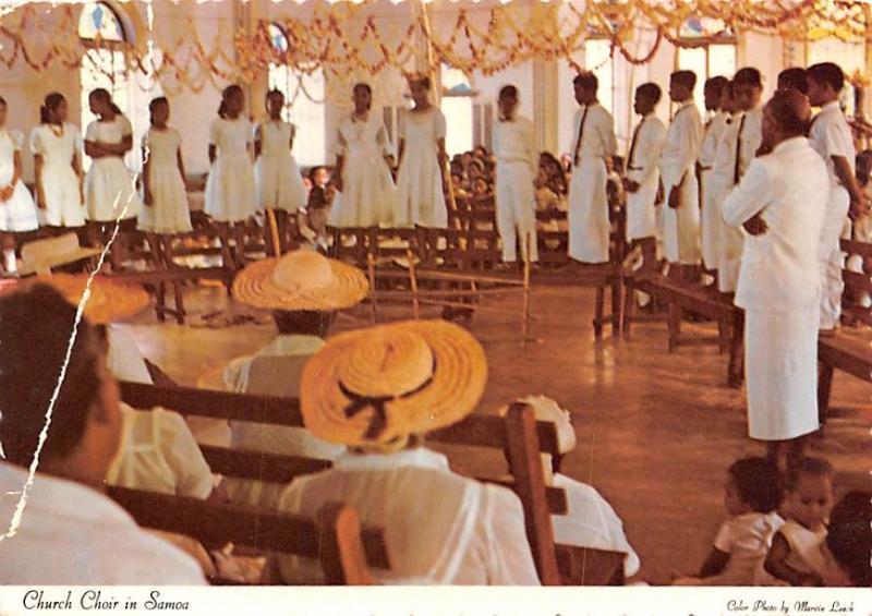 Church Choir - Samoas