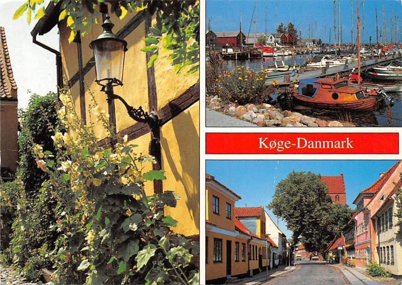 Danmark - Koge, different views, port harbour boats boote, bateaux