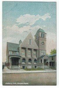 Danbury, Connecticut, Vintage Postcard View of Disciple Church