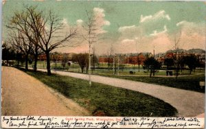 Vtg 1905 Cold Spring Park Wilmington Delaware DE Postcard