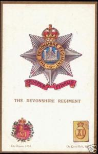 UK Military Badges, The Devonshire Regiment (1910s)