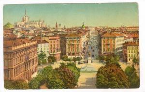 Panorama Del Castello, Milano (Lombardy), Italy, 1900-10s