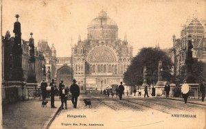 Netherlands Amsterdam Hoogesluis Street Postcard