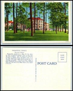 GEORGIA Postcard - Thomasville, John D. Archbold Memorial Hospital N9
