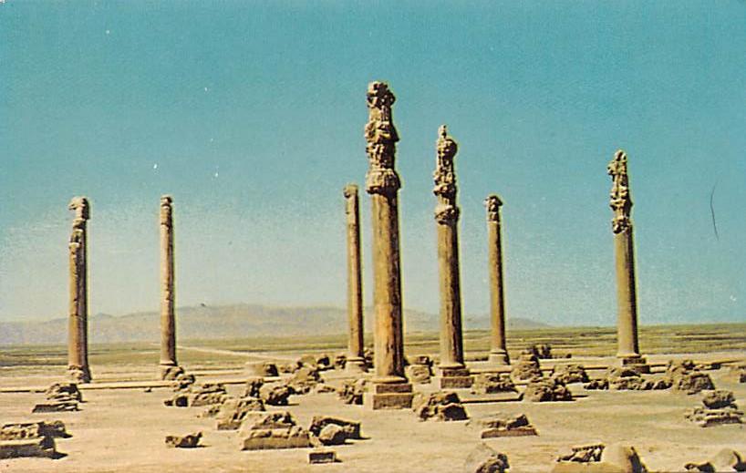 Iran Shiraz Persepolis Shiraz Persepolis Hippostcard