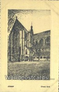 Alkmaar Netherlands, Nederland Groete Kerk  Groete Kerk