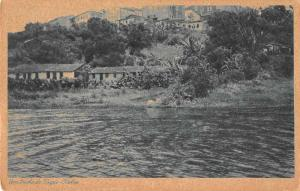 Bahia Brazil Trecho do Dique Scenic View Antique Postcard J69332