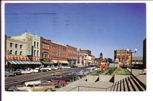 Queen Street, Charlottetown, Prince Edward Island, Used with Message 1973