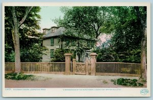 Lexington Massachusetts~Buckman Tavern~Minuteman Rendezvous~Detroit Pub #11401