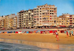 Belgium Oostende Mariakerke Strand en Dijk, Beach and Promenade Plage