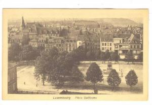 Place Guillaume, Luxembourg, 1900-1910s
