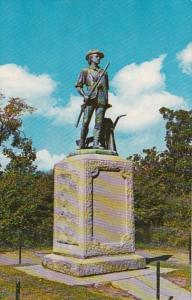 Massachusetts Concord Minute Man Statue 1969