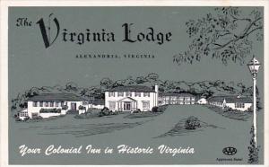 Virginia Alexandria The Virginia Lodge 1954