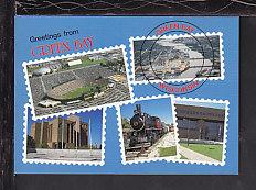 Greetings From Green Bay,WI Postcard BIN