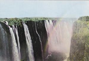 Aerial View, Victoria Falls, RHODESIA, Zimbabwe, 50-70's