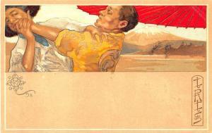 IRIS Opera Published by G. Ricordi & Company Milo Italy Signed G M Postcard