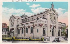 Rhode Island Newport St Joseph's Church