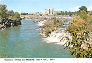 Idaho Falls, Idaho, USA - Mormon Temple & Hospital