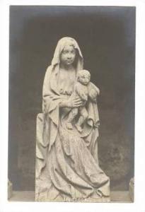 RP, Madonna Statue With Baby, Cisterzienser-Kloster Maulbronn Gegr. 1120, Bad...