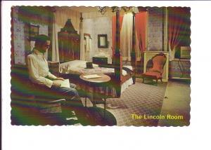 The Lincoln Room, Wills House, Gettysburg, Pennsylvania, Interior