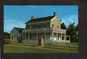 UT Brigham Young Winter Home House St George Utah Postcard Latter Day Saints