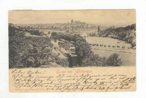 Gruss aus Wildungen, Germany, PU-1904