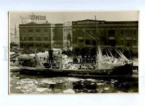 191473 RUSSIAN CIVIL WAR flight Czech Legion ship in BOSTON