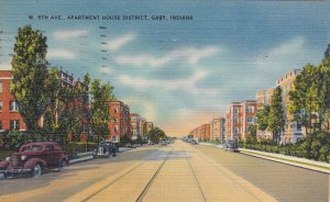 Indiana Gary West 5th Avenue Apartment House District 1946 sk1369