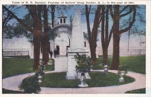 SNUG HARBOR , L.I., New York , 00-10s , R.R. Randall Tomb