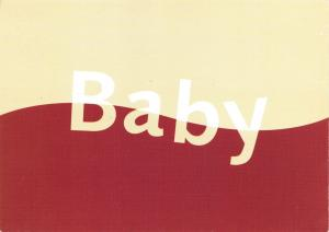 Postcard BABY Promotional Advertising Card by Boomerang Media