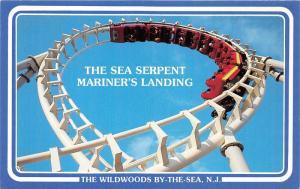 Wildwood by the Sea New Jersey~Sea Serpent @ Mariner's Landing~Amusement Park~Pc