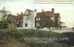 British Columbia, Canada Residence of Lieut Governor of British Columbia Vict...