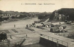 CPA VIETNAM Cochinchine - SAIGON - Boulevard Charner (86065)