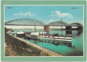 Riesa, Elbbrucke, modern unused Postcard