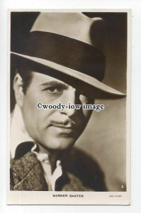 b4988 - Film Actor - Warner Baxter, Fox Films, No.5 - postcard