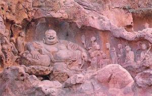 China Lingyin Temple, Laughing Buddha Maitreya
