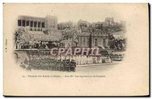 Old Postcard Theater Parysatis to Acet Beziers arenas III imprecations of Par...