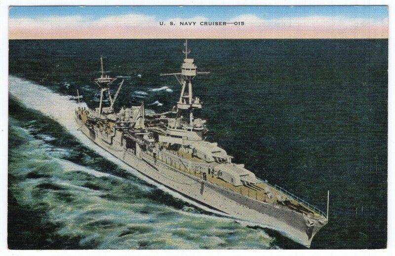 U. S. Navy Cruiser