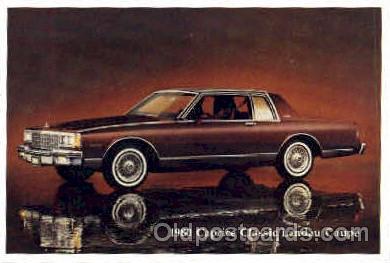 1980 Caprice Classic Landau Coupe Auto, Automobile, Car, Postcard Post Card  ...