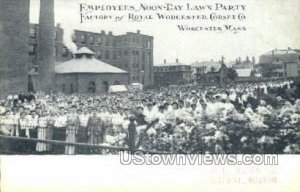Factory Royal Worcester Corset Co. - Massachusetts MA