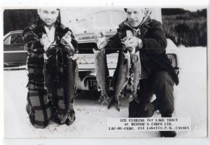 Ice Fishing, Wesrer's Camp, Lac-du-Cerf, Labelle Co. PQ