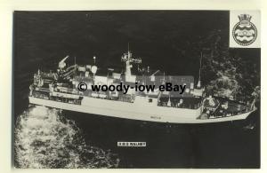 na1738 - Royal Navy Warship -  HMS Walney - photograph